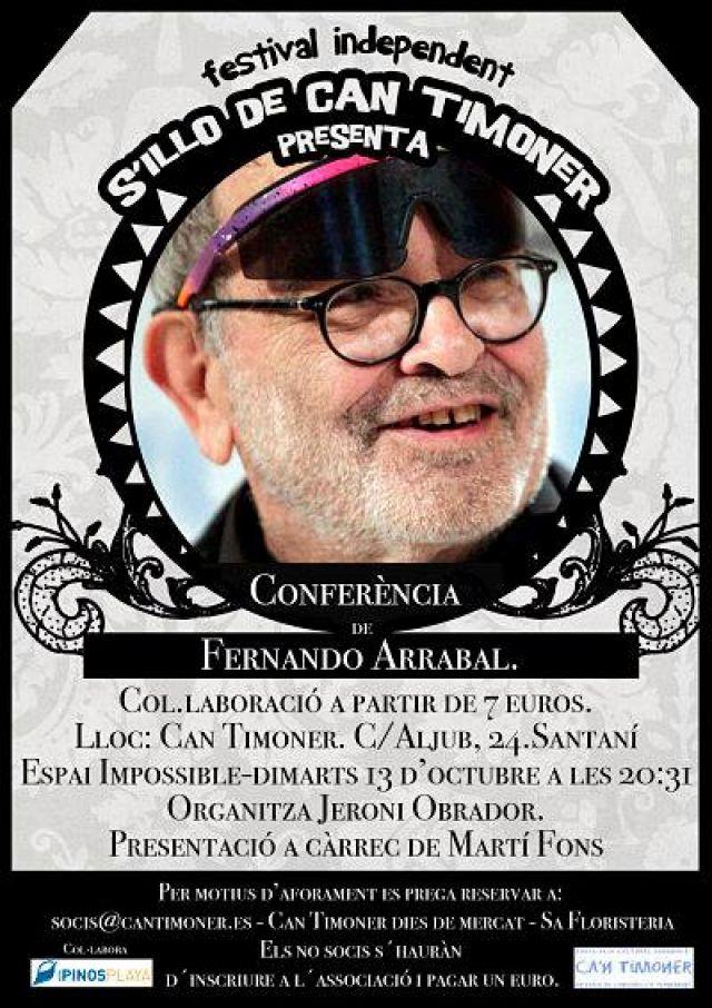 Conferència de Fernando Arrabal