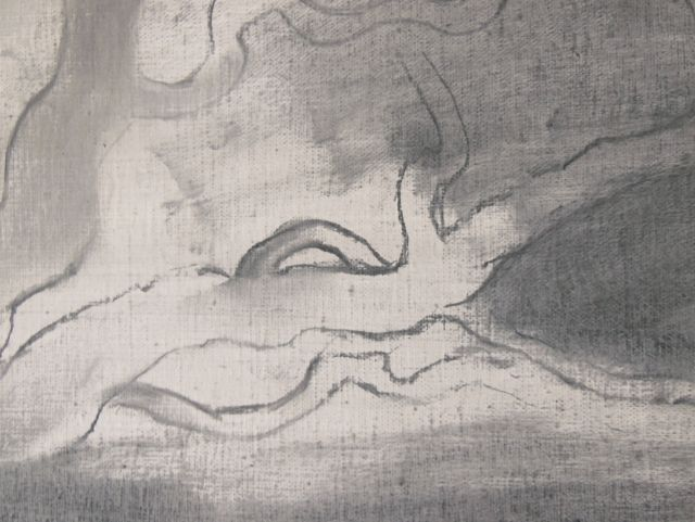 """Nigredo"" de Enric Irueste (Detalle)"