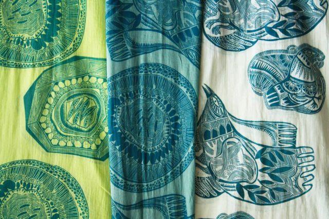 Taller de grabado textil